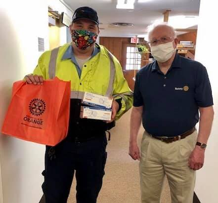Delivering Masks to Local Services during Covid-19